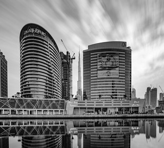 Reflection of the Business Bay...