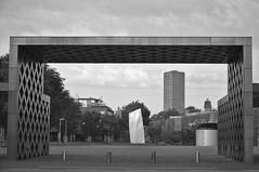 img_0004 (Jan van de Rijt) Tags: depont tilburg skymirror monochrome anishkapoor art museum darktable gimp canoneos50d 1785mm westpoint architecture skyscraper benthemcrouwelarchitects canonefs1785mmf456isusm