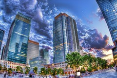 Tokyo2 (ok_ntm) Tags: tokyo building architecture city evening skyscraper