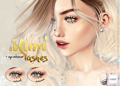 WarPaint* @ TLC - Mimi lashes (Mafalda Hienrichs) Tags: warpaint war paint tlc liaison collaborative catwa lashes eyelashes applier makeup mimi secondlife bento