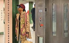 subway girl (poludziber1) Tags: street ny nyc newyork travel urban people
