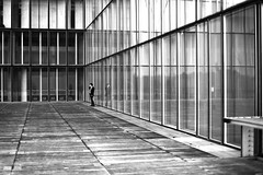 Around the corner (pascalcolin1) Tags: paris13 bnf reflets reflection coin corner vitres windows lumière light photoderue streetview urbanarte noiretblanc blackandwhite photopascalcolin 50mm canon50mm canon