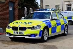 Northumbria Police BMW 330d Roads Policing Unit Traffic Car (PFB-999) Tags: northumbria police norpol np bmw 330d 3series saloon roads policing unit rpu traffic car vehicle lightbar grilles fendoffs leds lj15bvc