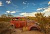 Come Back (KPortin) Tags: abandoned vintage sagebrush automobile abandonedautomobile rusty newmexico
