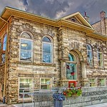 Fergus Ontario - Canada - Wellington County Library - Carnegie Free Library thumbnail