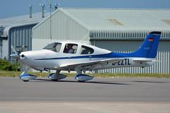 D-EZTL Cirrus SR-22 EGJB 19/5/18 (David K- IOM Pics) Tags: gci egjb guernsey airport deztl cirrus sr22
