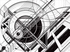 J_Series_272 mckie 2018 (Marks Meadow) Tags: abstract abstractart geometric geometricart design abstractdesign neogeo color pattern illustrator vector vectorart hardedge vectordesign interior architecture architectural blackwhite surreal space perspective colour asymmetry structure postmodern element cubism technology technical diagram composition aesthetic constructivism destijl neoplasticism decorative decoration layout contemporary mckie markmckie