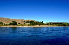 Vista del Río Limay (luisarmandooyarzun) Tags: paidaje landschaft landscape panoramica panorama patagonia azul fotografía photography turismophotography rio argentina patagoniaargentina