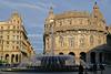 Genova, Piazza De Ferrari, Palazzo della Borsa (HEN-Magonza) Tags: genova genua genoa ligurien liguria italin italy italia piazzadeferrari palazzodellaborsa cesare crosa di vergagnibrunnenfountainjugendstilart nouveau