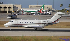 CS-CHE LMML 13-06-2018 (Burmarrad (Mark) Camenzuli Thank you for the 12.2) Tags: airline netjets europe aircraft bombardier bd1001a10 challenger 350 registration csche cn 20623 lmml 13062018