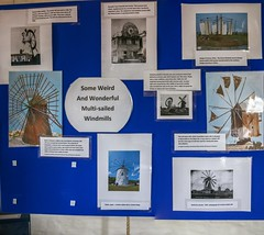 Holgate Windmill exhibition, 'How Many Sails?' - panel 6