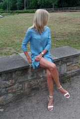 Legs (newport50) Tags: outdoors sexylegs verysexy sexyfeet blondenaughty blonde erotic naughty foot shoefetish fetish pretty ankles arched sexysandals