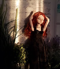 (claudine6677) Tags: bjd msd ball jointed doll asian dolls mnf minifee chloe fairyland puppe sunbath