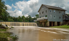 Bennett's Mill (Brandon Westerman WNP) Tags: bennetts mill whitewater creek gristmills georgia gristmill waterfall dam building architecture structure south history historic fayetteville