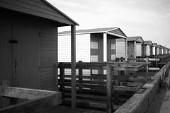 Beside the seaside (NovemberAlex) Tags: seaside mono kent whitstable beachhuts