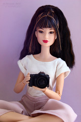 Sayuri (Artemis_Arty) Tags: doll barbie fashionfever oldbarbie asian asiandoll mattel barbiedoll girl photographer