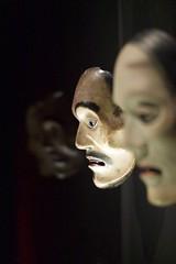 Masks (•Nicolas•) Tags: reflection nicolasthomas art asia color culture exposition ghost legend m9 mask masque museum quaidebranly tourisme visit light shadow lumière ombre horror fear