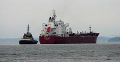 Ships of the Mersey - Hafnia Sunda & Svitzer Stanlow (sab89) Tags: river mersey ship shipping irish sea liverpol
