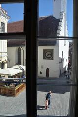 Great Guild Hall, Tallinn (JohntheFinn) Tags: tallinn tallinna estonia viro eesti summer tallinnoldtown vanalinn oldtown kabloppo europe estonianhistorymuseum greatguildhall window
