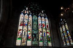 St Mary's Church | Shrewsbury-52 (Paul Dykes) Tags: shrewsbury shropshire uk gb unitedkingdom stmaryschurch religiousbuilding church mediaevalstainedglass medievalstainedglass