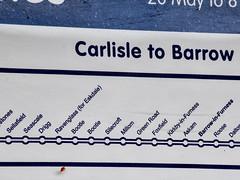 So Good they Named it Twice (robmcrorie) Tags: northern trains timetable error delay mistake bootle lancashire cumbria barrow carlisle midsummer june sun train rail railway nikon d850