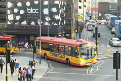 MC 78 @ Station Street, Birmingham (ianjpoole) Tags: midland classic scania l94ub wright solar yn05gxh 78 working west midlands railway rail replacement bus service from lichfield trent valley birmingham new street