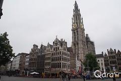 Onze-Lieve-Vrouwekathedraal Antwerpen (Qdraw.nl foto's) Tags: onzelievevrouwekathedraal antwerpen kerk grotemarkt vlaanderen belgi
