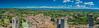 Vista Grossa (JdJ Photography (www.jdj-photography.nl)) Tags: torregrossa sangimignano siena toscane tuscany italië italy italia middellandsezee mediterraneansea europa europe continent dorp village middag afternoon dag day overdag daytime zon sun zonlicht sunlight schaduw shadow torens towers huizen houses sportveld sportsfield heuvels hills wolken clouds