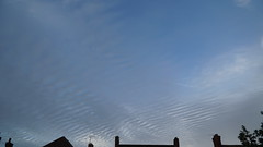 Clouds Timelapse (l4ts) Tags: derbyshire chesterfield cloudscape clouds rooftops timelapse video incameraapp