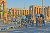 horse drawn carriages in front of Luxor Temple (GVG Imaging) Tags: luxor egypt