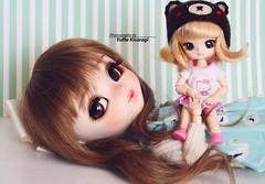 Mother and daugther (·Yuffie Kisaragi·) Tags: doll pullip wind custom yuzuaesthetics nayame littledal zoar obitsu rewigged rechipped akazukin chacha akazukinchacha docolla