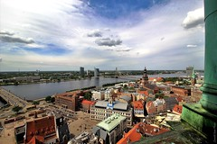 Beautiful Riga (IVAN 63) Tags: riga vecriga lettonia city cityscape latvia ригалатвия панорамное panoramica cityscapes oldtown wiev travel