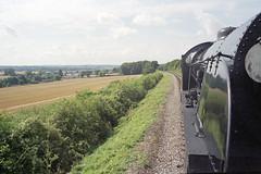 S15 506, Mid-Hants Railway, 31 Aug 2000 (Ian D Nolan) Tags: railway mhr station 35mm epsonperfectionv750scanner s15 460z 506 lswr