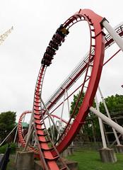 Vortex (zachclarke) Tags: carowinds northcarolina charlotte southcarolina fortmill nc sc themepark amusementpark rollercoaster ride rides 2018 may spring nikon nikond5600 d5600 cedarfair vortex bm standupcoaster standup
