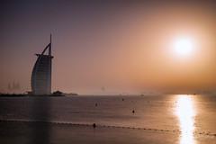 Sultry sunset (Siebring Photo Art) Tags: burjalarab dubai emirates uae loomeyday ocean sea skyline sunset water verenigdearabischeemiraten ae