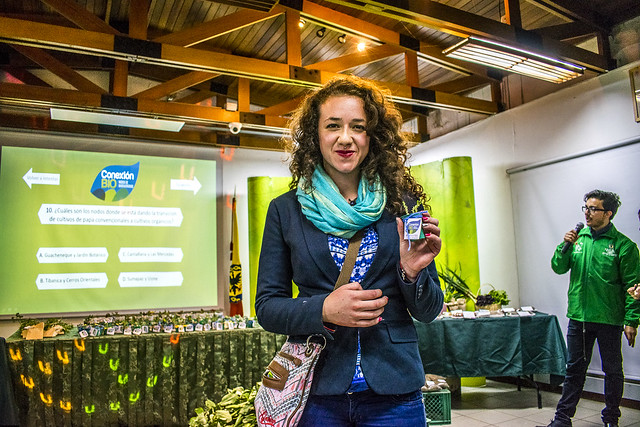 Participantes en lanzamiento de Conexión Bio
