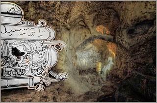 Jaaaah Freunde, wir erforschen die Höhle ...