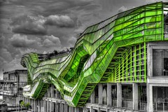 DSC_4864-1And8more_tonemapped (Bruno ArtPhoto) Tags: paris seine musée art modern vert green design mode verre river hdr photomatix nikon d7100 dodet bruno