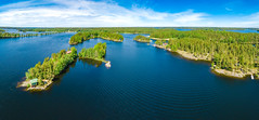 Saimaa (miemo) Tags: dji mavic mavicpro saimaa taipalsaari aerial clouds cottage drone eteläkarjala europe finland forest islands lake landscape nature panorama sky summer summercottage water southkarelia fi