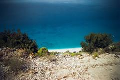 (Just A Stray Cat) Tags: kodak color plus 200 greece beach sand sun sunny yacht 35 35mm mm film analog analogue