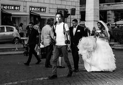 Seen in Rome (judy dean) Tags: judydean 2018 rome wedding photographer froufrou frock bride groom lensbaby street