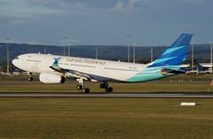 PK-GPL Garuda Indonesia Airbus A330-243 (johnedmond) Tags: perth ypph westernaustralia garuda indonesia airbus a330 aviation aircraft aeroplane airplane airliner plane sel55210 55210mm ilce3500 sony