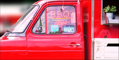 BBQ Open (Stephen Braund) Tags: red fordtransit