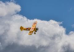 Boeing Stearman (hinsberj) Tags: aviation biplane airplane airshow aircraft