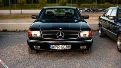 W126 Coupe (m.grabovski) Tags: mercedes w126 coupe warszawa warsaw polska poland mgrabovski 560 sec
