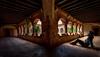 Claustro del monasterio de Tentudía. (Javi Bermudez) Tags: d7200 nikon badajoz extremadura españa spain tokina 11mm monasterio tentudía claustro retrato autorretrato portrait