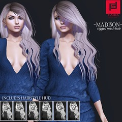 Madison (FABIA.HAIR) Tags: hair kinky rigged moda woman beauty look piktures fabia nice meef head special second sl secondlife sweet event fashion hairstyle lofe lovely avatar spam style shopping new release best love evertday art
