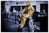 goldman (Mark Rigler -) Tags: goldman gold statue human poole quay