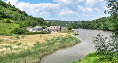 Cotehele Quay, River Tamar, Cornwall (Explored) (Baz Richardson (away until early October)) Tags: cornwall rivertamar cotehelequay rivers explored