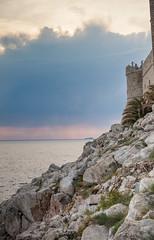 Dubrovnik, Croatia (Cyrielle Beaubois) Tags: 2017 canoneos5dmarkii croatia cyriellebeaubois avril spring travel voyage sunset island purple dubrovnik cliff sea water explore wanderlust wander